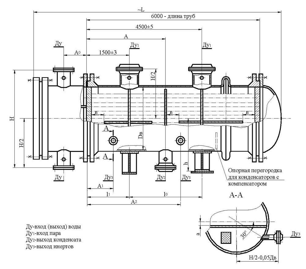 Теплообменник пар-вода чертежи теплообменники изготавливаем