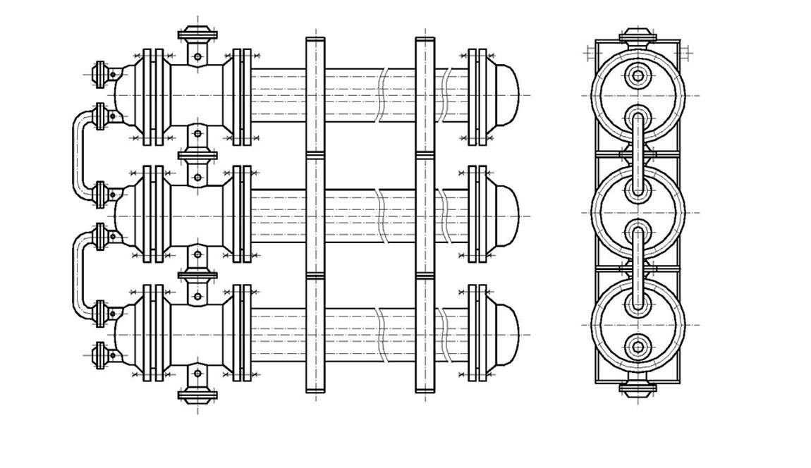 Схема трубного теплообменника теплообменник воздух воздух томск