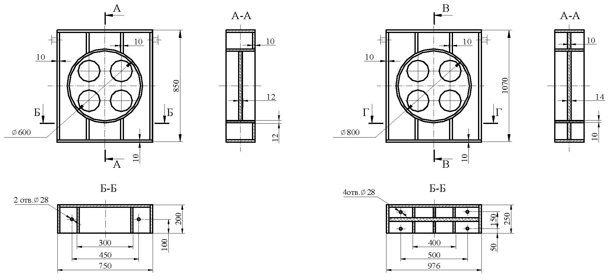 Опоры теплообменник CRF164-6-XS 2P